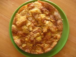 gateau-pommes-caramel